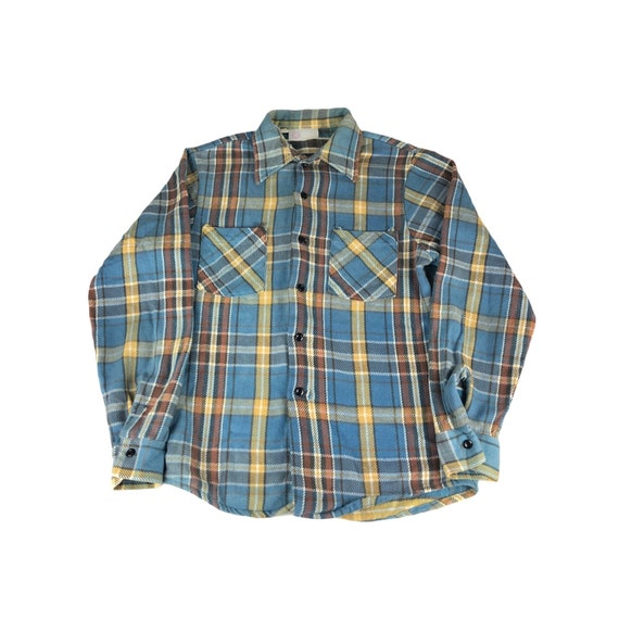 1970s Sears King's Road Flannel Shirt