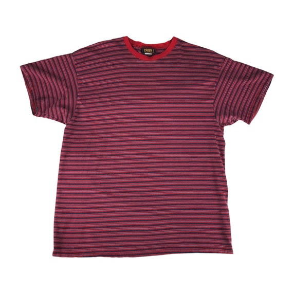 Vintage Faded Glory Striped Tshirt Made in USA