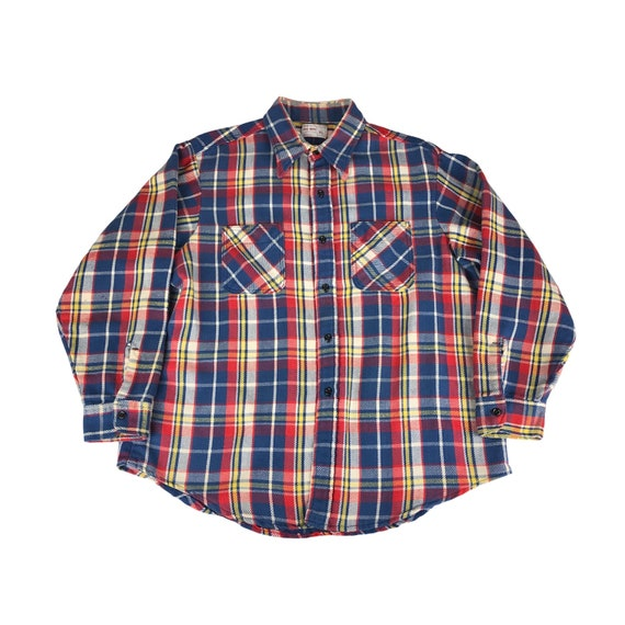 1960s JC Penney Big Mac Flannel Shirt Made in USA