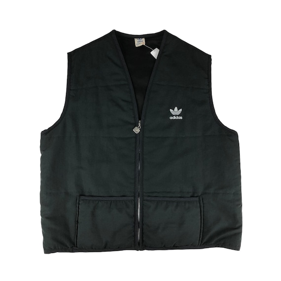 Vintage 1990s Adidas Vest Made in Canada
