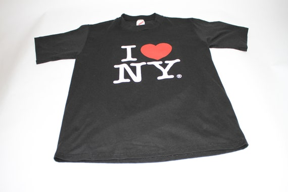 Vintage Made in USA I Love New York shirt