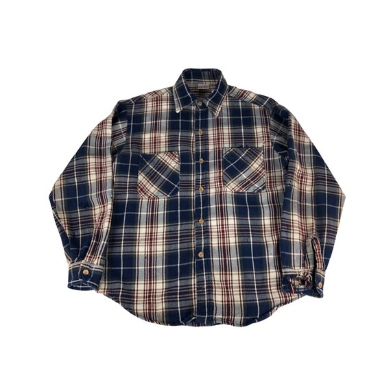 1970s JC Penney Big Mac Flannel Shirt