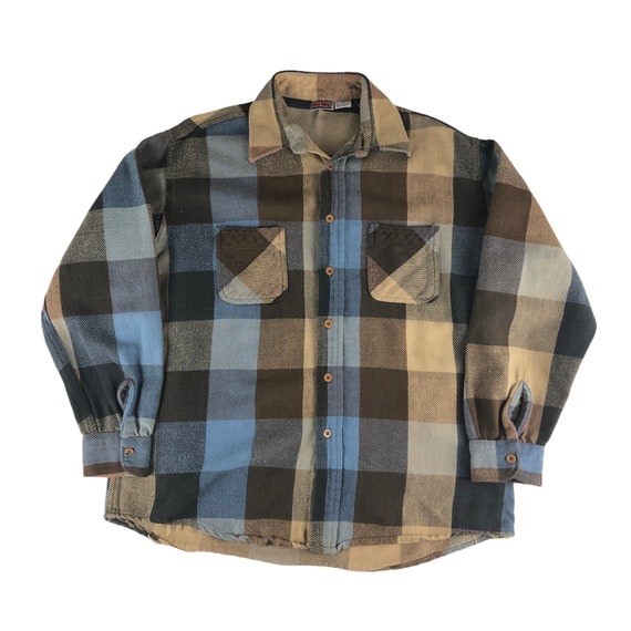 Vintage 1990s JC Penney Big Mac Flannel Shirt