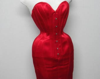 Corset Dress Queen of Hearts