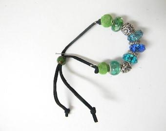 Suede leather bracelets