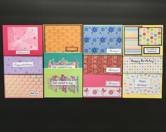 Notecard Variety Pack 12 cards