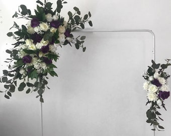 Silk flower chuppah etsy wedding arch flower arch wedding flower arch floral arch silk flowers chuppah flowers boho wedding flowers boho wedding decor mightylinksfo