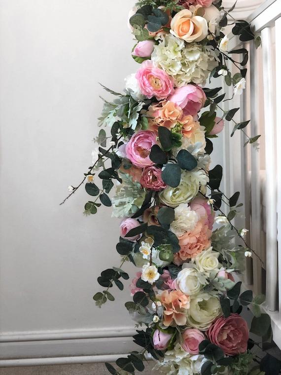 guirlande de fleurs guirlande de fleurs guirlande mariage. Black Bedroom Furniture Sets. Home Design Ideas