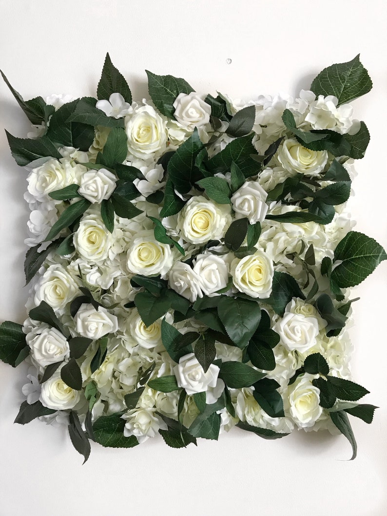 Mur De Fleurs Decor Fleur Decor De Mariage Decoration Etsy