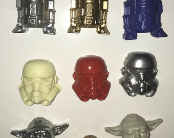 Star Wars Magnets Dark Vader and Yoda, R2D2, Stormtrooper Star Wars magnet for fridge and magnetic Board