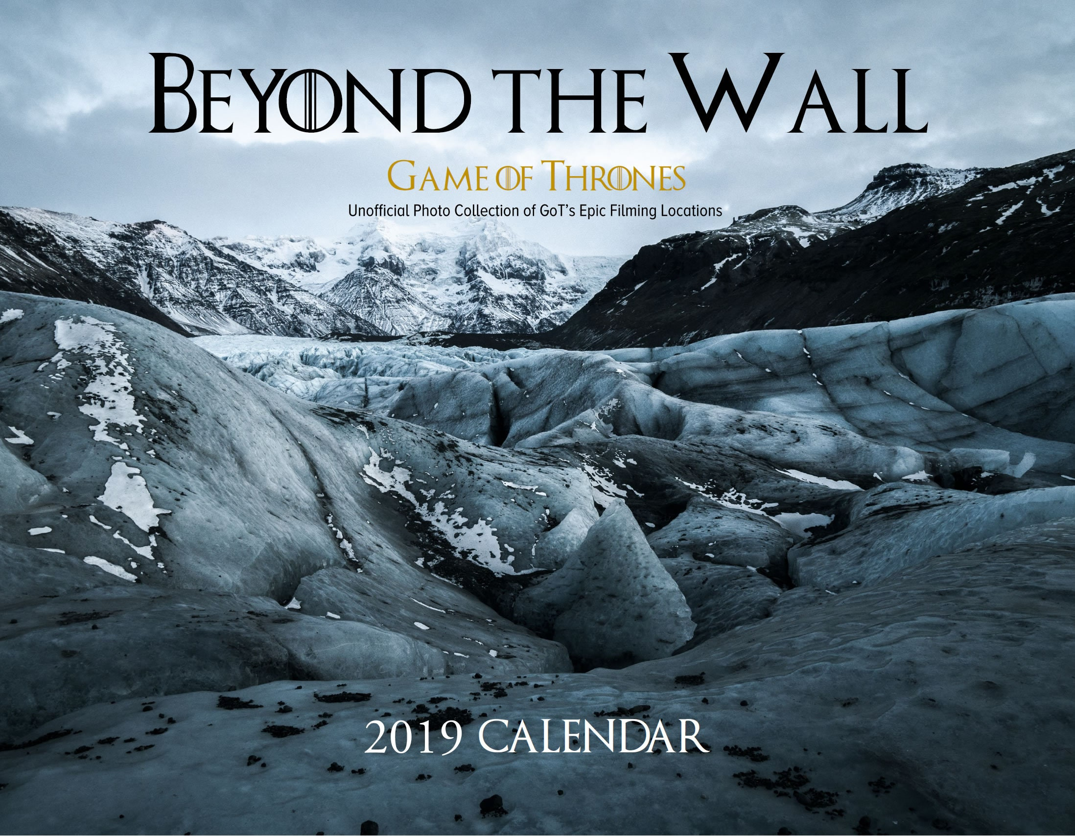 Game Of Thrones Real Filming Locations 2019 Wall Calendar