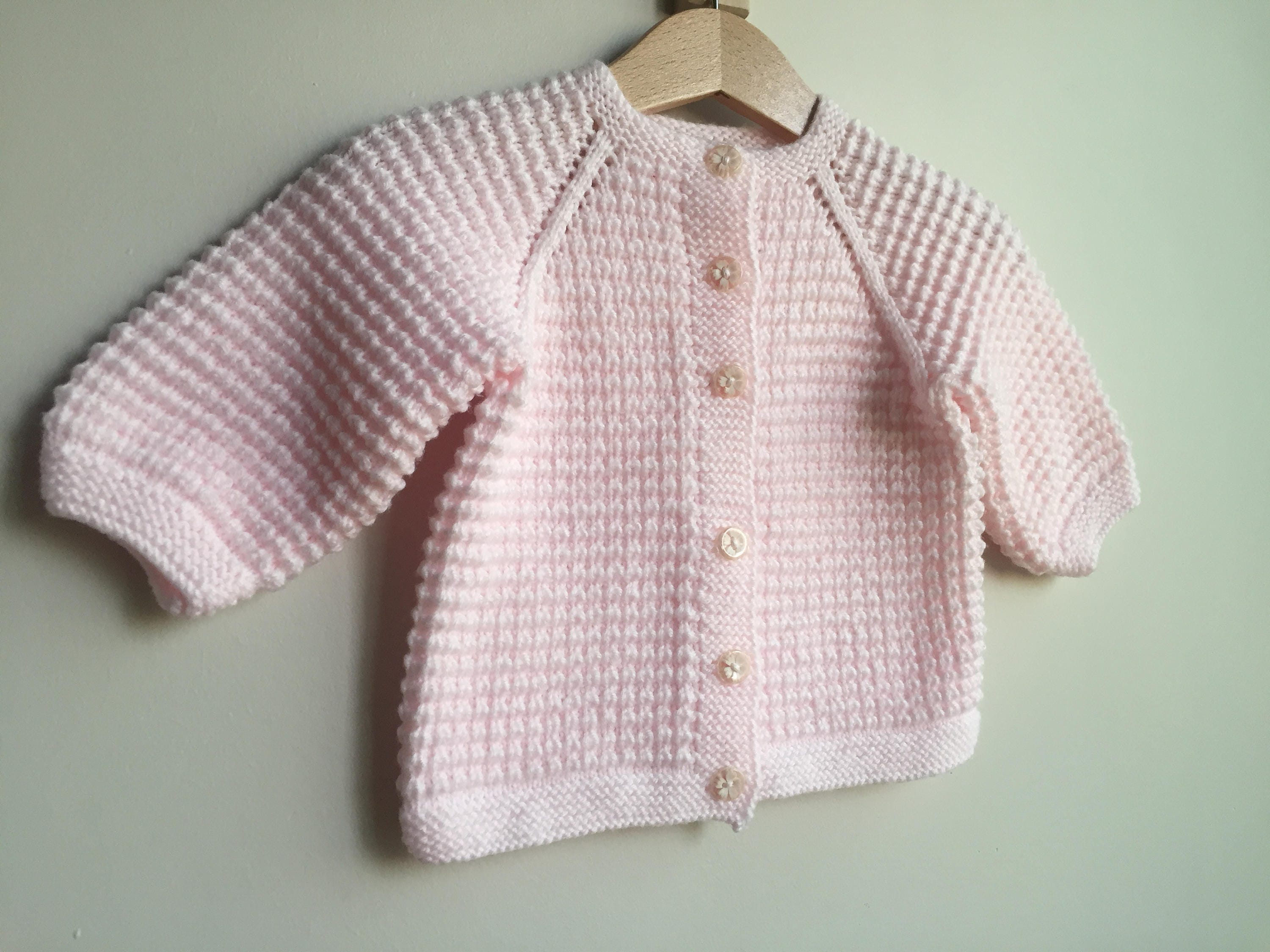 65999d8159c8 Baby Sweater Hand knitted baby cardigan jacket round