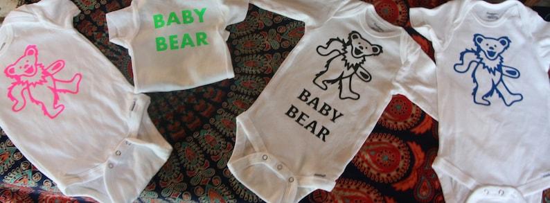 Baby Bear Dead Baby Onsie