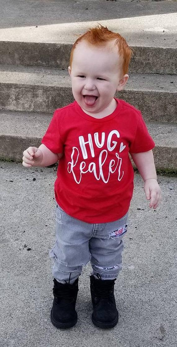 9205da802 HUG Dealer tee t-shirt Toddler Childrens custom print FREE | Etsy