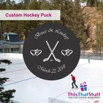 Custom Printed Official Hockey Puck for Any Event | The Ultimate Hockey Fanatic Gift