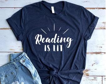 add9a07d53f Reading Is Lit Shirt
