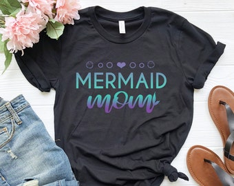 73997a4ebd0 Mermaid Mom Shirt