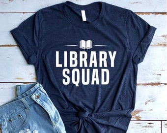 23bc840e05f1 Library Squad Shirt