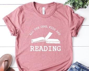 Funny Reading Shirt, Reader Shirt, I Love Reading, Book Shirt, Book Lover Gift, Bibliophile Shirt, Teacher Shirts, English Teacher Gift