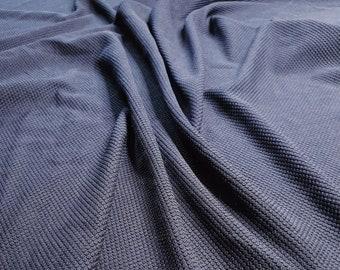 Grey marl medium weight jersey knit dressmaking fabric price per metre 150cm  59 width