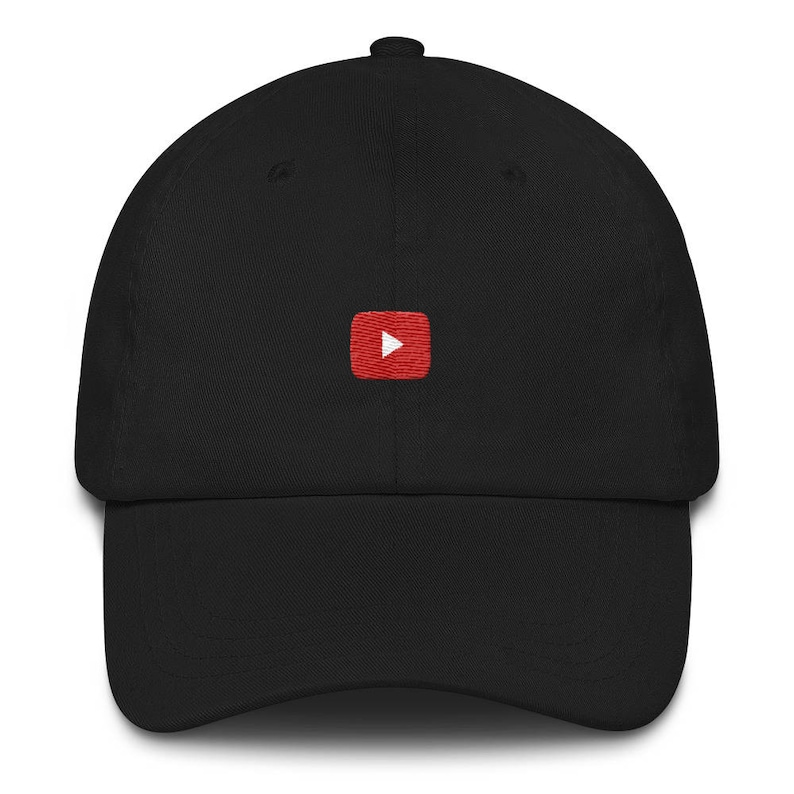 01cab808a45 YouTube Play Icon Dad hat
