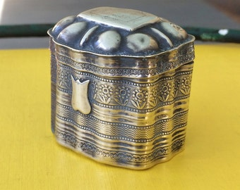 Dutch Snuff Box Silver 1800s
