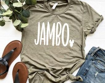 Jambo Tee   Jambo Animal Kingdom Inspired Shirt   AK Safari Tee   Animal Kingdom Safari Shirt   Disney Inspo Shirt   Disney World Shirt