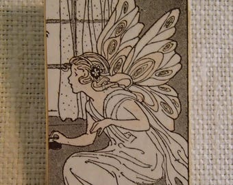 Fairy at Window pendant pin combo