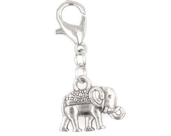 Its All About...You Yarn Sewing Stainless Steel Clasp Clip on Charm 79G