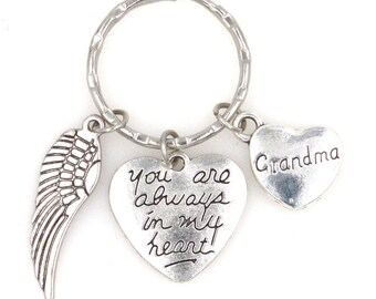 You Are Always in My Heart Bee Keychain 110D
