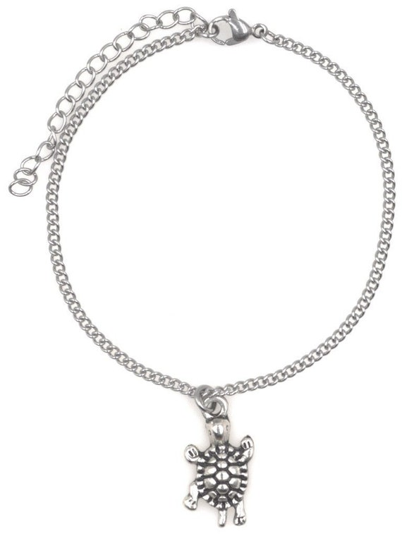 """7.5/"""" 9.5/"""" Stainless Steel Ankle Bracelet with Alloy Giraffe 52T It/'s All About You Jewelry Its All About...You"""