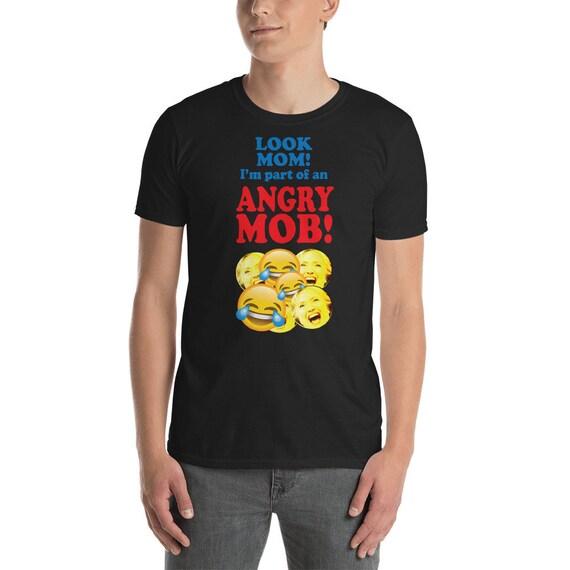 Angry Mob protestation Président résistance Trump résister LOL résistance Président manches courtes T-Shirt unisexe 8de6e8