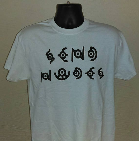 f2eb7909f ... Unown's Secret Message T-Shirt image ...