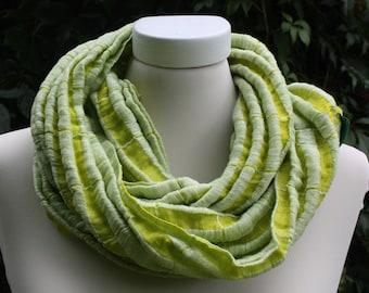 Linen loop, limone