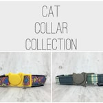 Cat Collar with Breakaway Safety Buckle