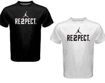 960540fcb1593c New Derek Jeter RE2PECT Custom t-Shirt Respect - Michael Jordan Jumpman tees