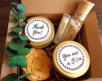 Thank You Gift Basket Etsy