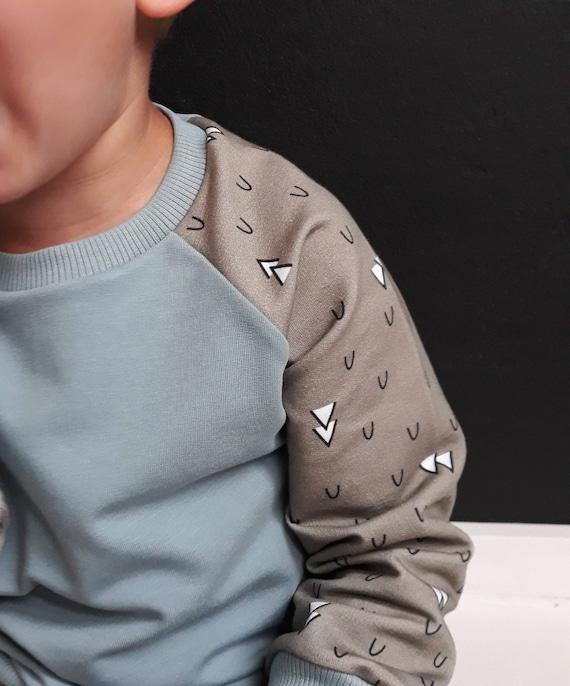 Chemise douce Sweatshirt - Pullover - - bébé vêtements - nouveau-né - bébé avec capuche - baggy pants - pantalon bébé - blouse - marcinija - barboteuse