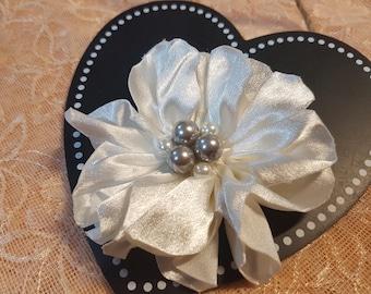 Handmade flower headpiece