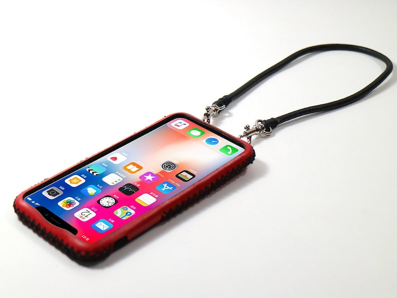iphone 8 case neck strap