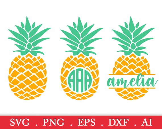 Download SALE Pineapple svg pineapple monogram svg pineapple | Etsy