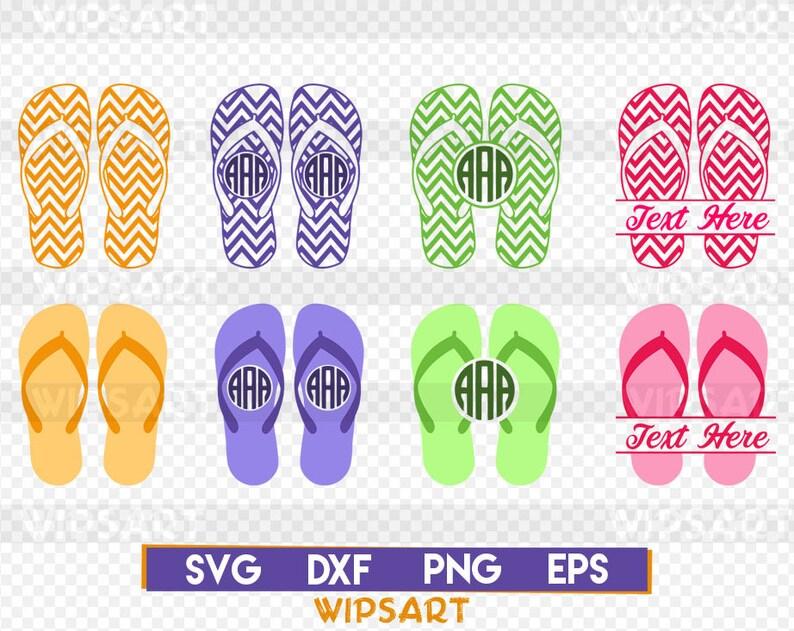 af7093ac4 SALE Flip flop svg flip flop monogram svg flip flop