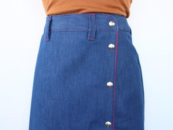 1960's Riding Skirt | Vintage Western Skirt | Siz… - image 3