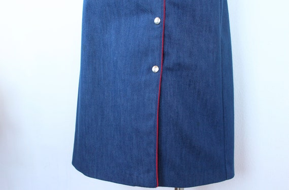 1960's Riding Skirt | Vintage Western Skirt | Siz… - image 5