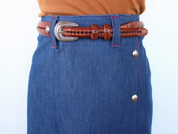1960's Riding Skirt | Vintage Western Skirt | Siz… - image 6
