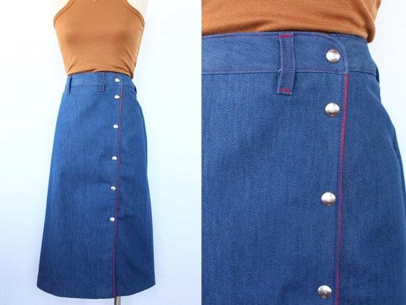1960's Riding Skirt | Vintage Western Skirt | Siz… - image 1