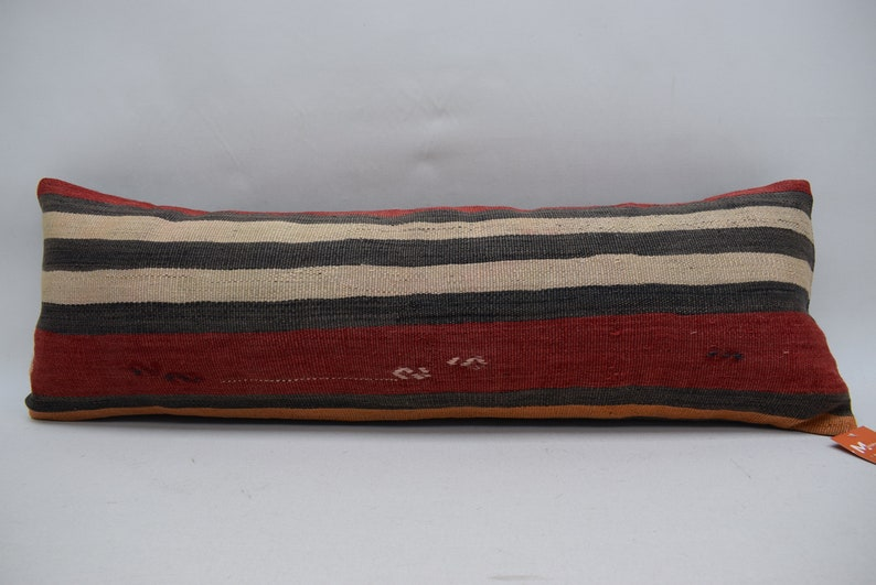 12x36 handmade pillow embroidered pillow kilim pillow pillow cover 0676 bedroom kilim pillow moroccan kilim pillow rustic kilim pillow
