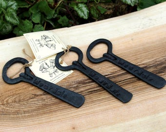 Personalised Hand Forged Bottle Openers