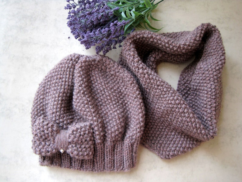 Set beanieloop scarf for kids