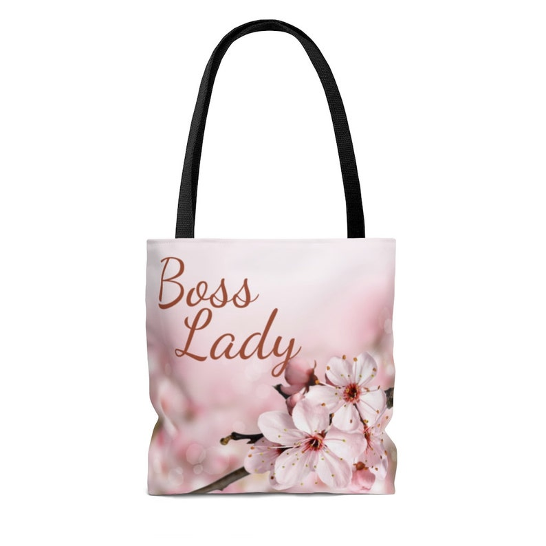 Boss Day Gift Floral Boss Lady Tote Bag Gift for Boss